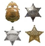 WESTERN LAWMEN BADGES